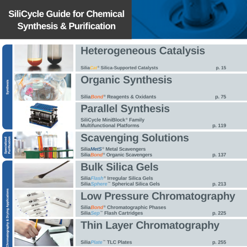 SiliCycle: Guide for Chemical Synthesis and Purification