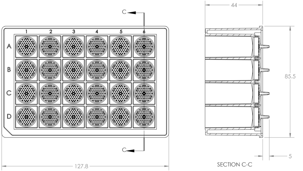 Large Volume Microfiltration Microplates