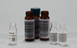 Barcoded Vials